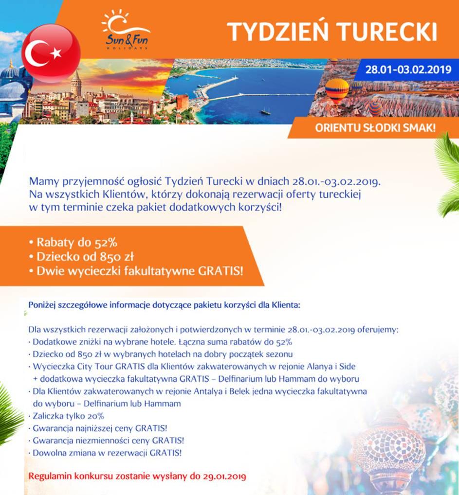 tydzień turecki sun fun